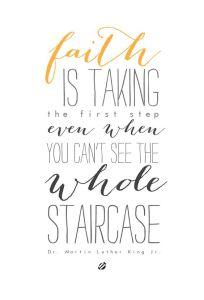 take a step