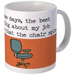 mug chair spins